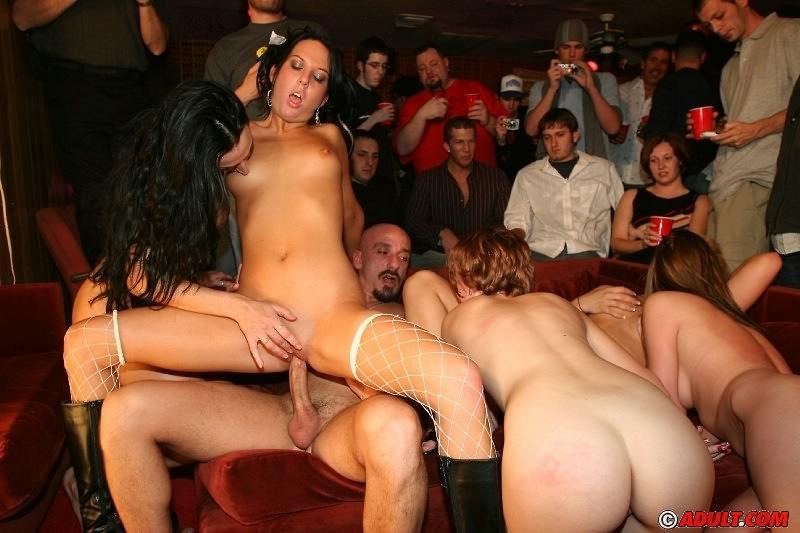 Вечеринки с порно машинами