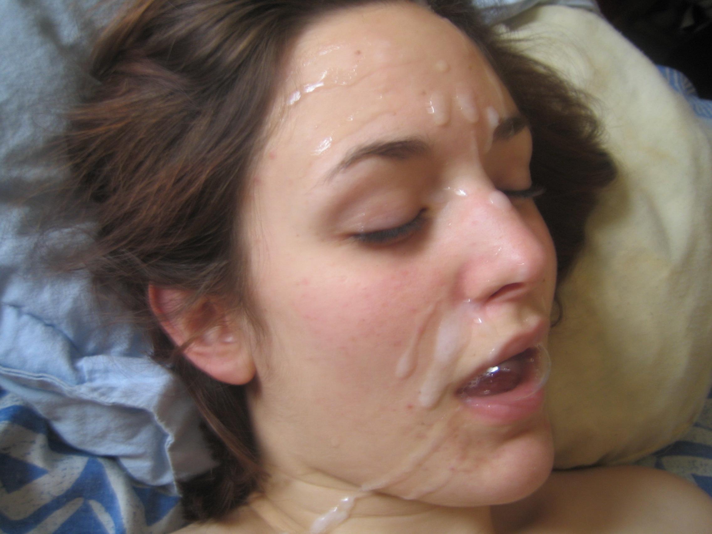 Кончил На Лицо После Безудержного Секса