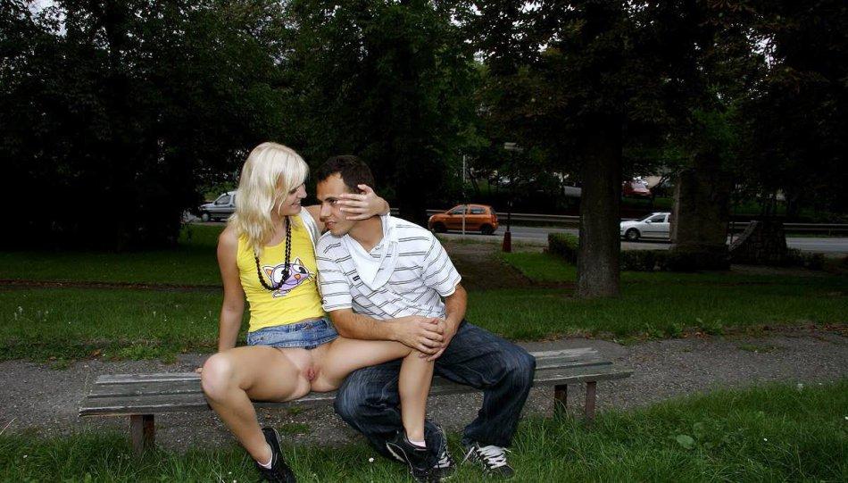 Секс На Улице Без